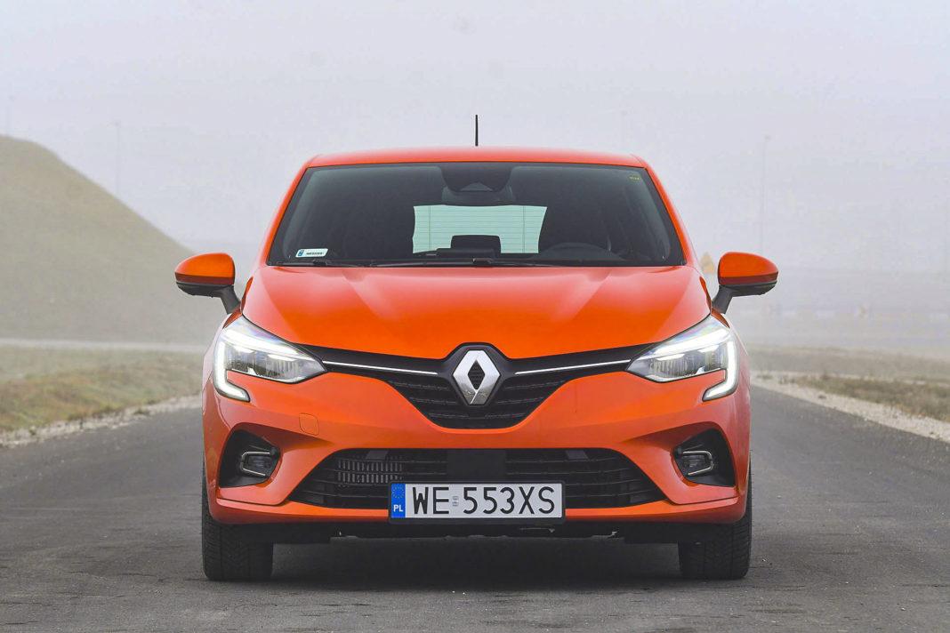 Renault Clio - przód
