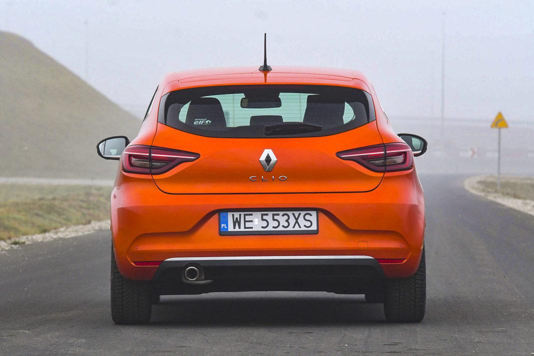 Renault Clio - tył