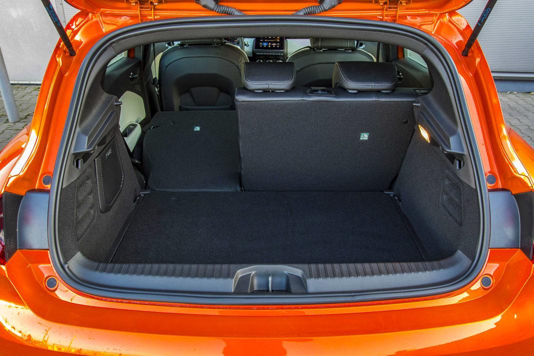 Renault Clio - bagażnik