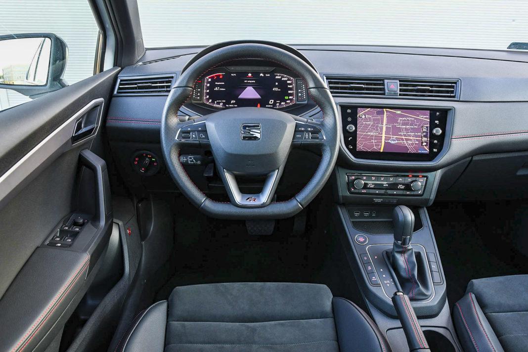 Seat Ibiza - deska rozdzielcza