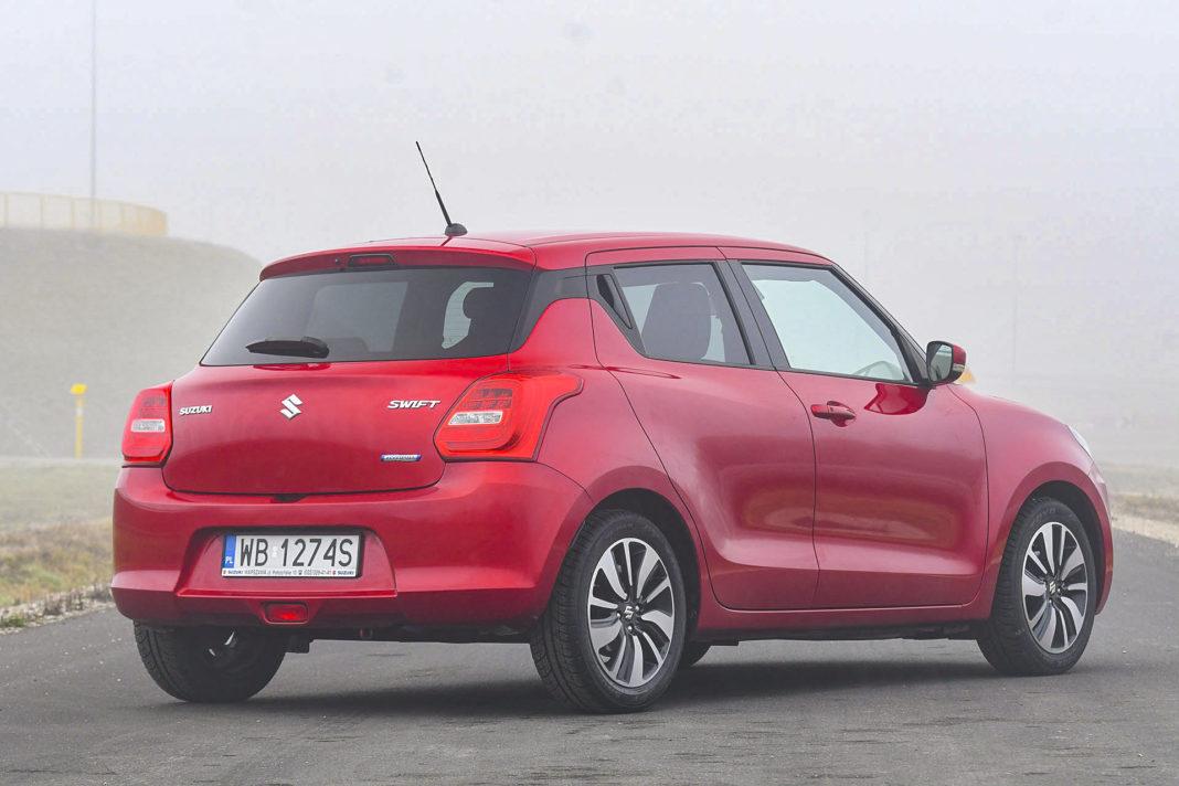 Suzuki Swift - tył