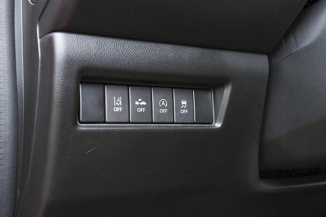 Suzuki Swift - systemy bezpieczeństwa