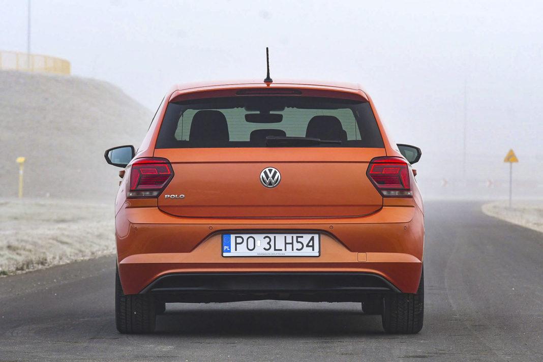 Volkswagen Polo - tył