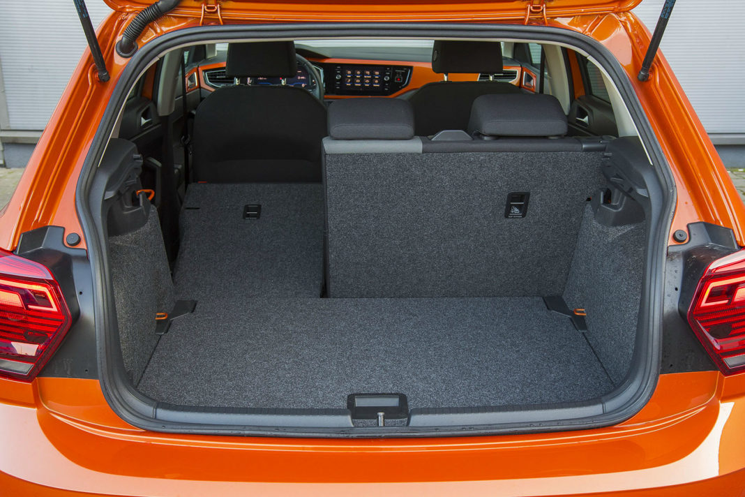 Volkswagen Polo - bagażnik