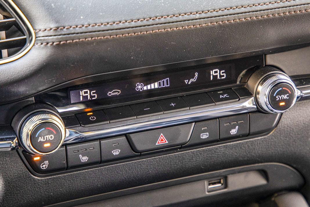 Mazda 3 - panel klimatyzacji