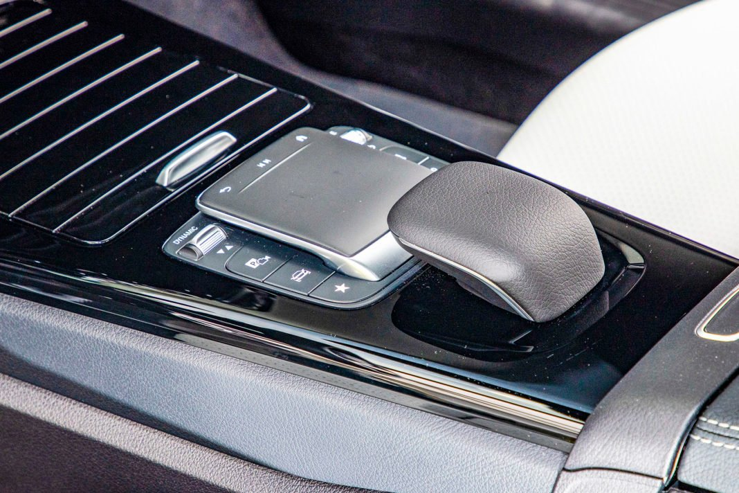 Mercedes klasy A - gładzik