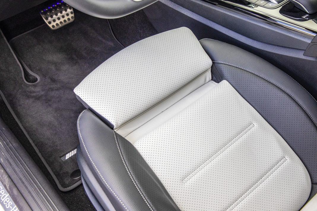 Mercedes klasy A - wysuwane podparcie ud