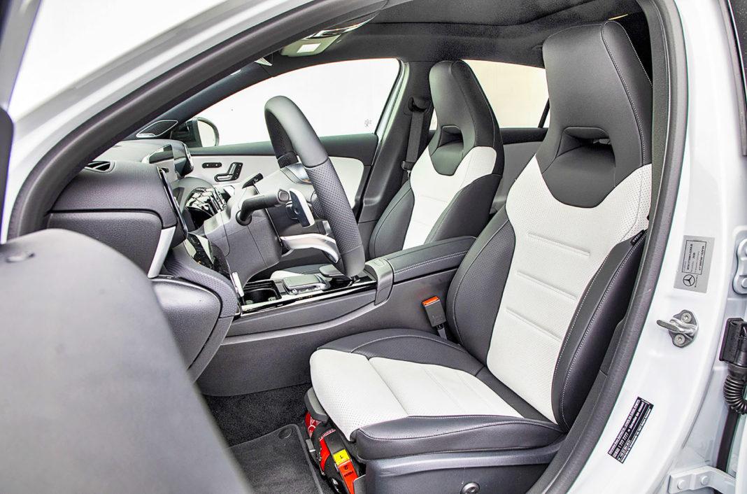 Mercedes klasy A - fotele