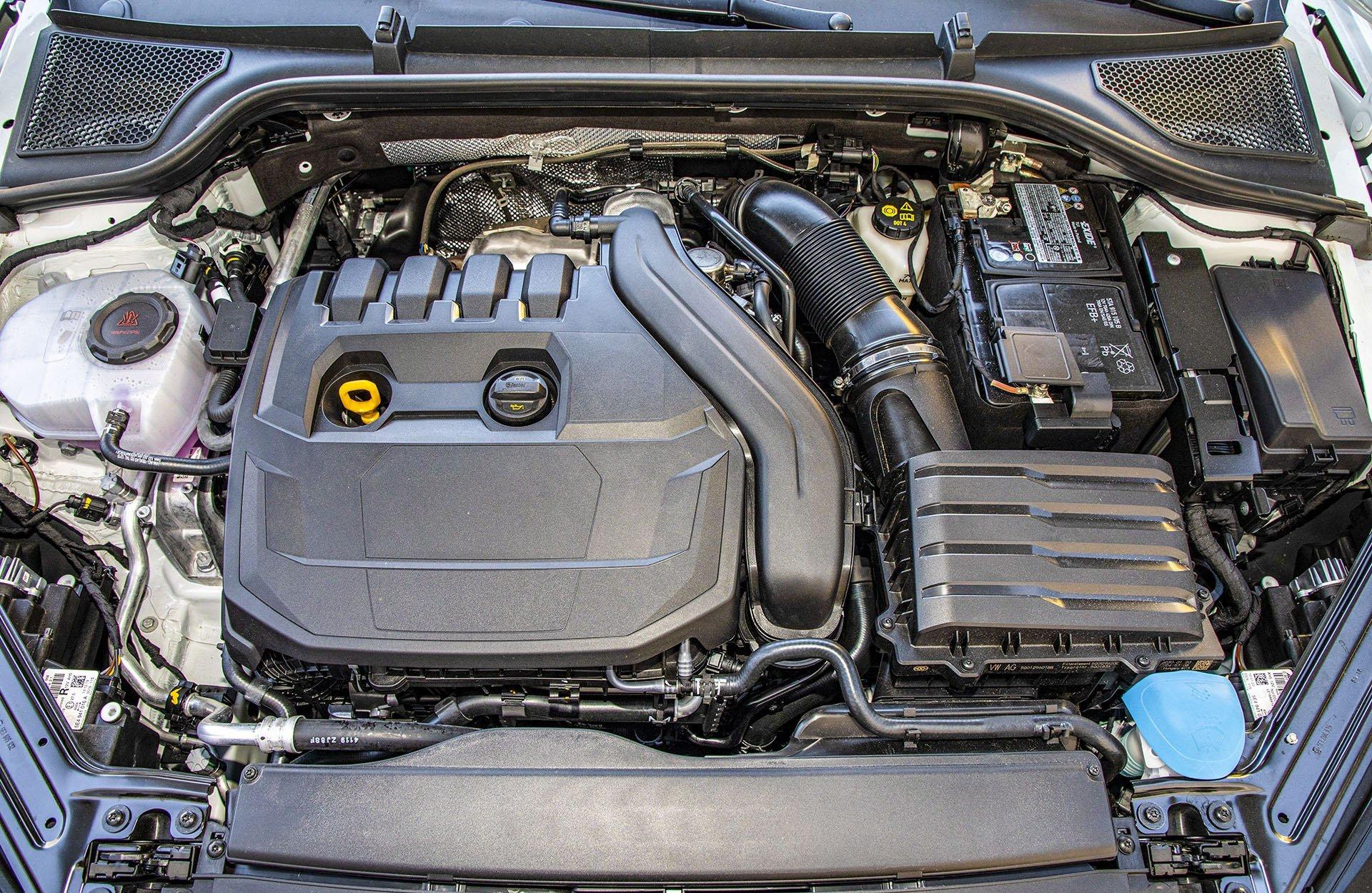 Skoda Octavia IV Combi 1.5 TSI Style test – silnik