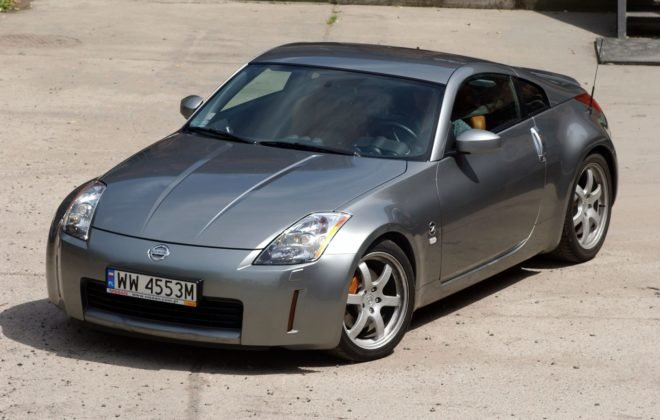 NISSAN 350Z Coupe 3.5 V6 280KM 6MT WW4553M 06-2004