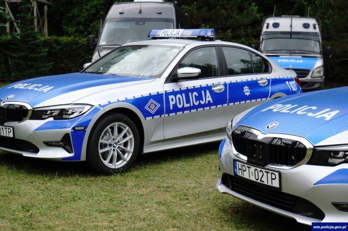 Policyjne BMW
