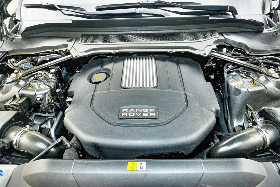 Range Rover Sport - silnik