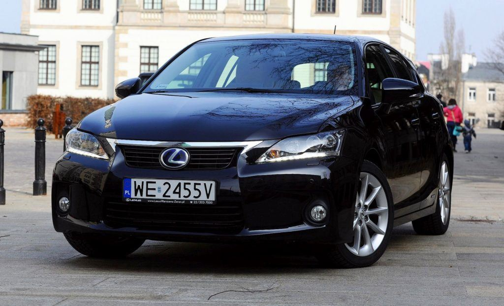LEXUS CT 200h Prestige 1.8 136KM AT e-CVT WE2455V 03-2011