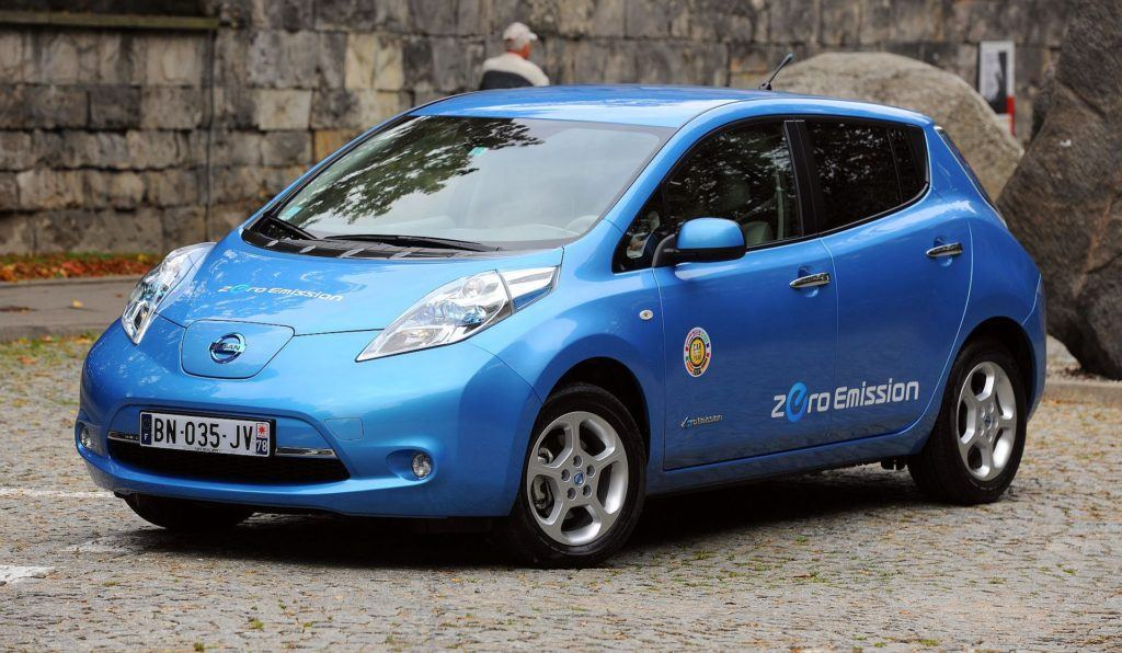 NISSAN Leaf I 109KM AT CVT BN035JV 09-2011