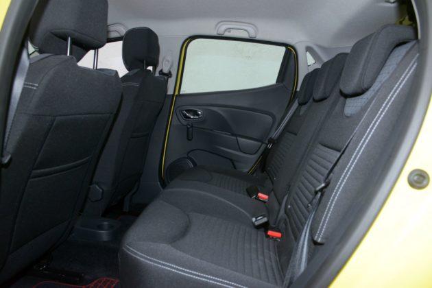 Renault Clio IV - wnętrze