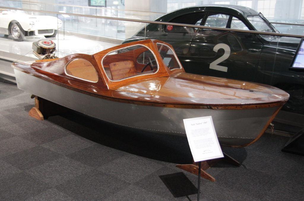 Saab łódź