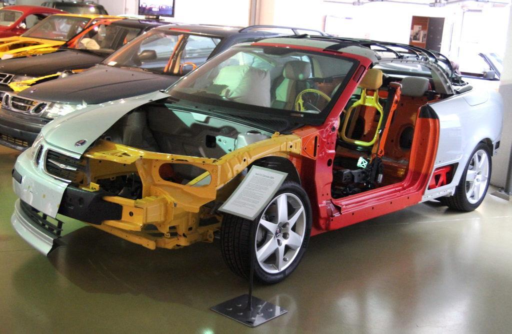 Saab - bezpieczenstwo