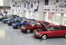 Saab - muzeum