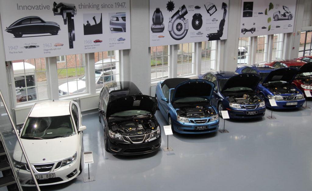 Saab - muzeum hala