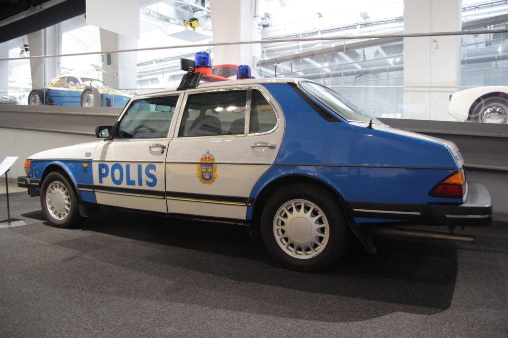 Saab policyjny