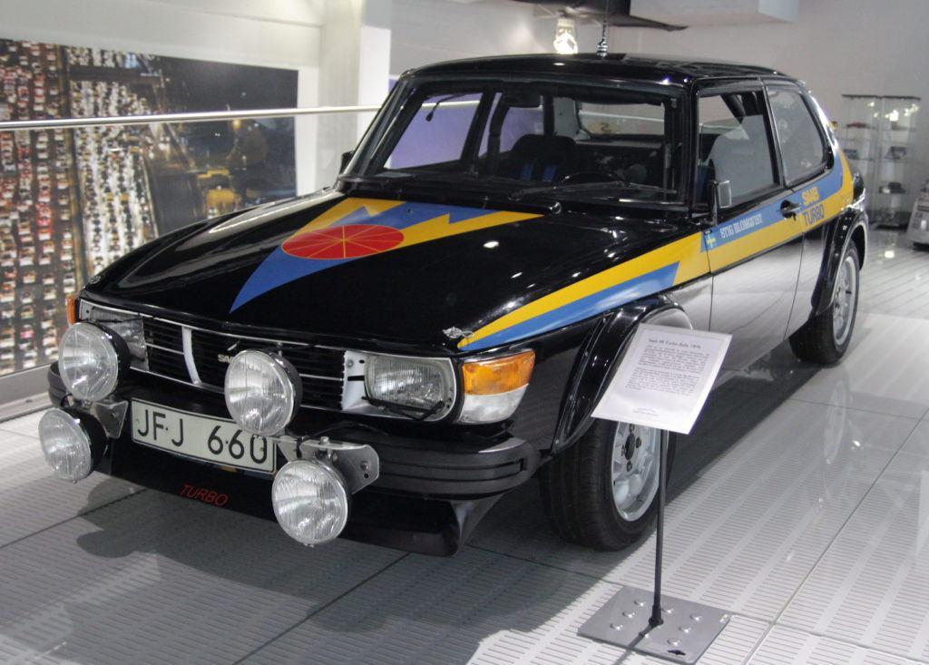 Saab - rajdowy