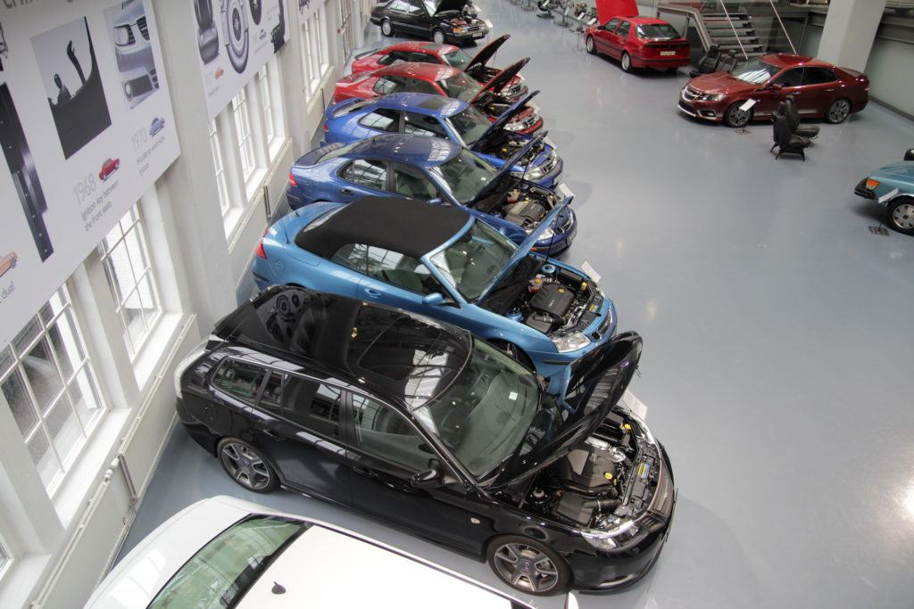 Saab - silniki