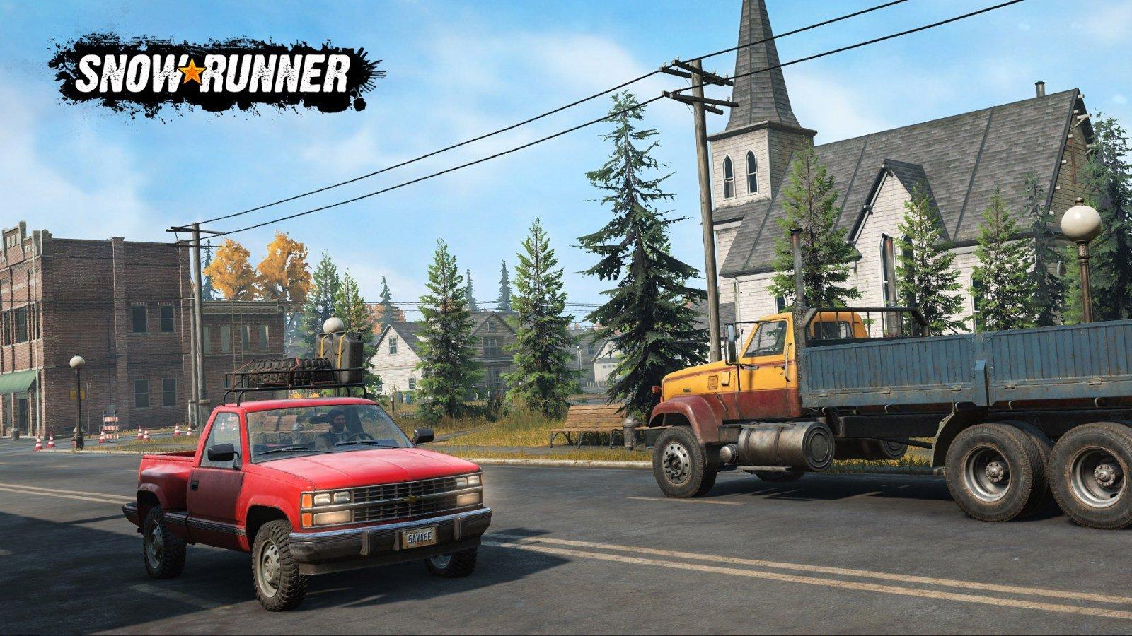 SnowRunner - pierwsza ciężarówka