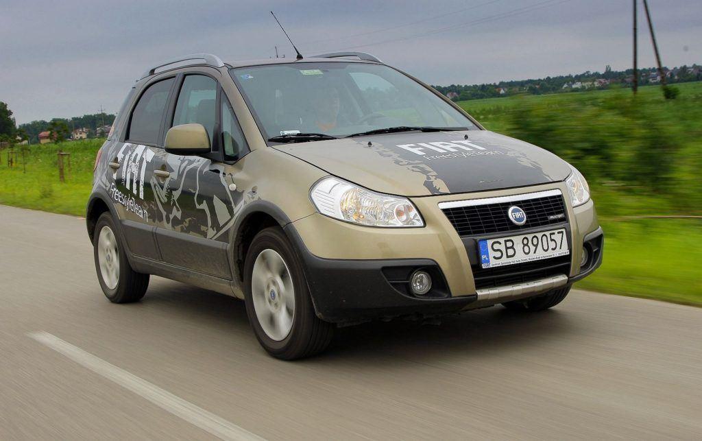 FIAT Sedici I 1.9MultiJet 120KM 6MT 4x4 SB89057 06-2009