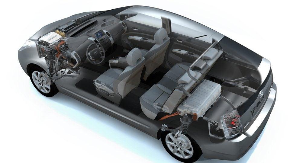 Toyota Prius II XW20 baterie