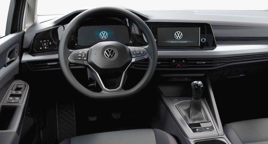 Volkswagen Golf VIII - kokpit