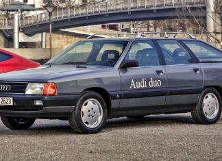 Audi 100 Avant Duo – pierwsza hybryda plug-in z Ingolstadt