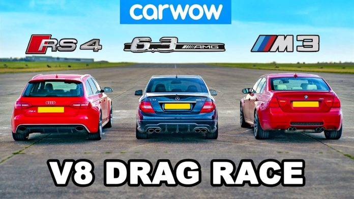 Audi RS4 - Mercedes C 63 AMG - BMW M3