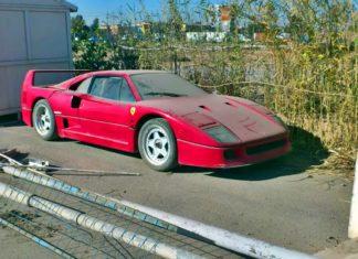 Szybka akcja: Ferrari F40 Husajna odnalezione!