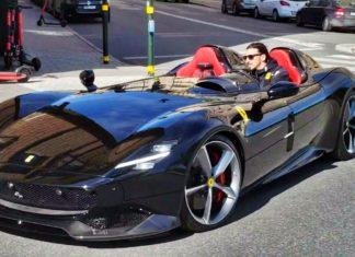 Znany piłkarz w unikatowym Ferrari. Co to za auto?