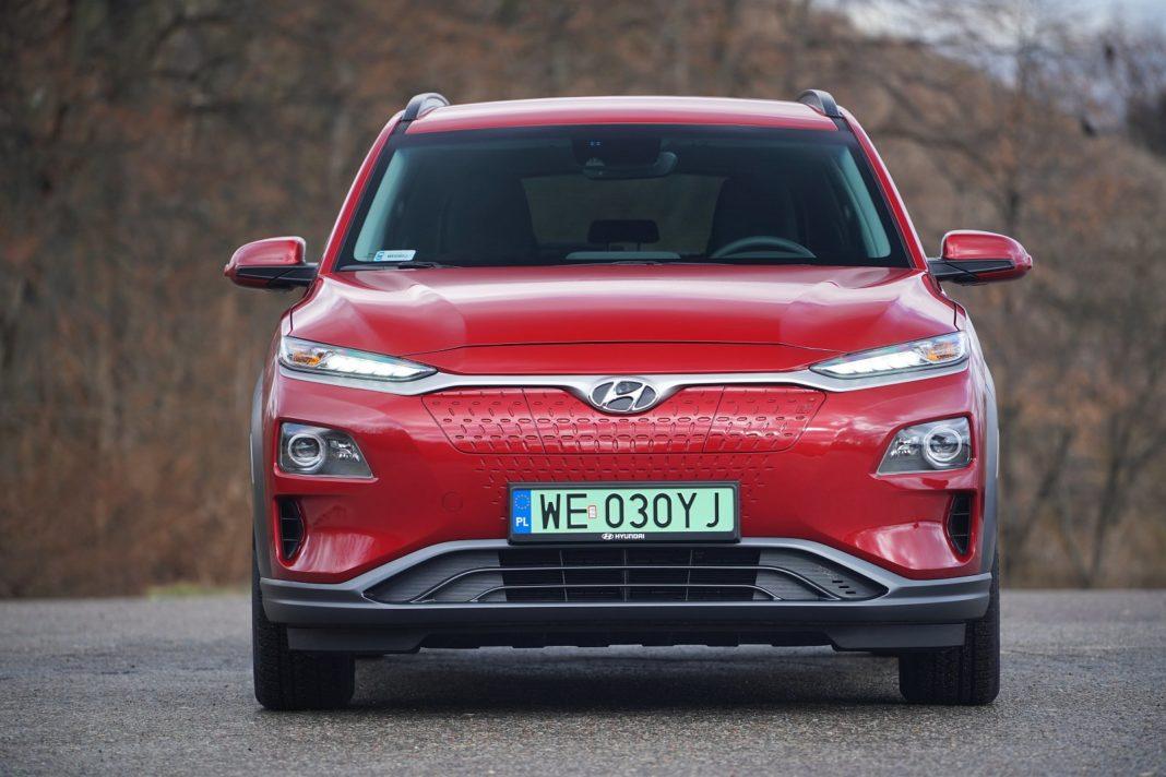 Hyundai Kona Electric 64 kWh - przód