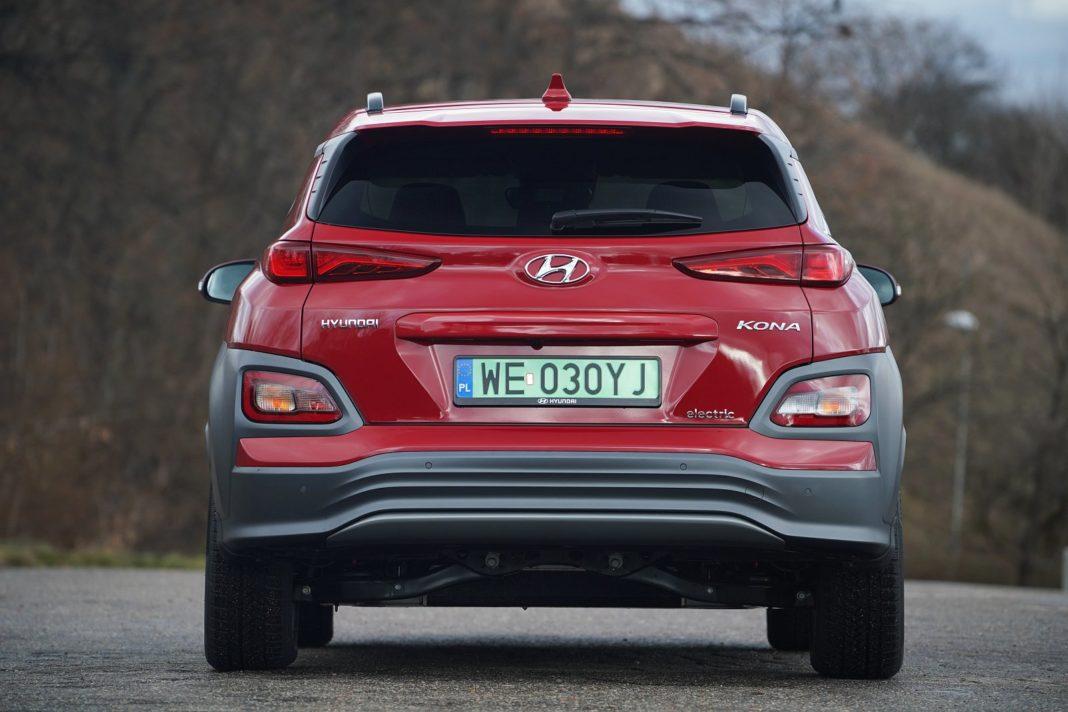 Hyundai Kona Electric 64 kWh - tył