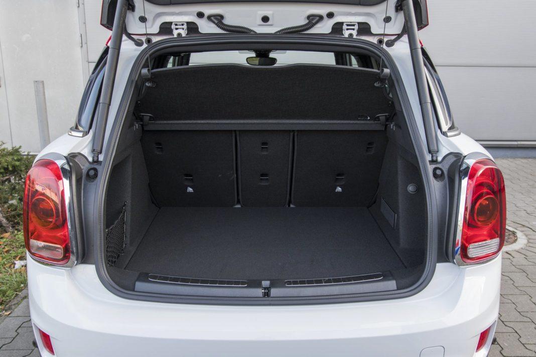 mini countryman jcw 2020 test bagażnik