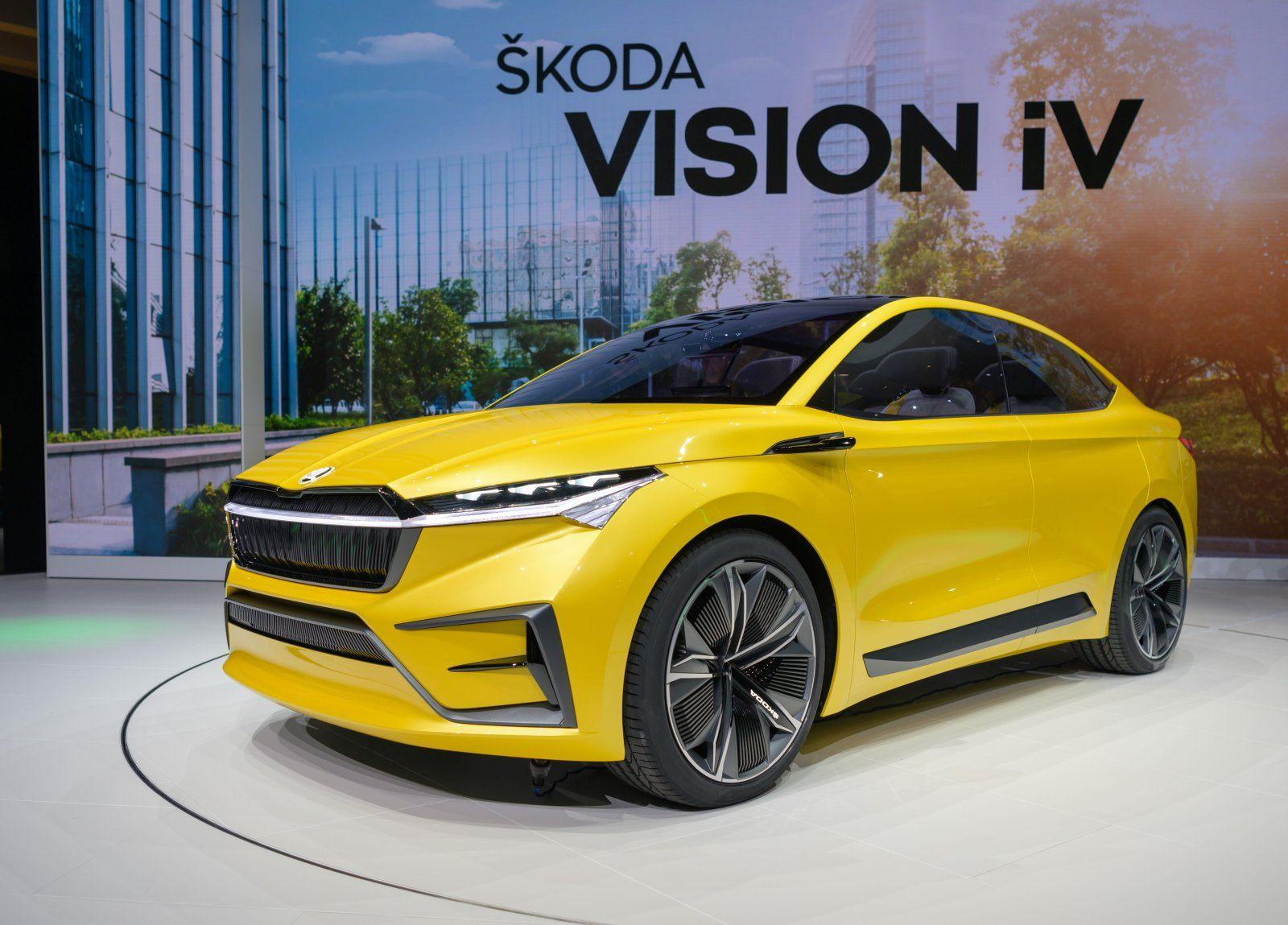 Skoda Vision iV (2019)