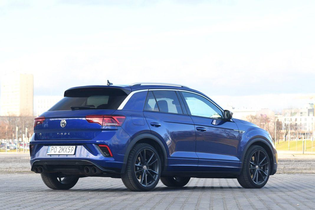 Volkswagen T-Roc R 2020 test – tył