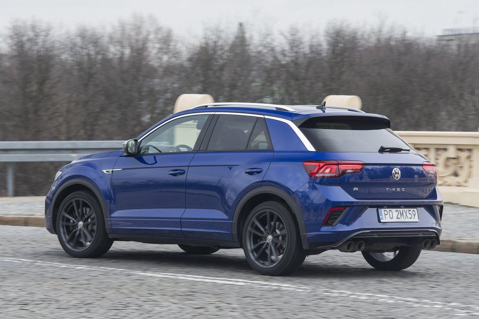 volkswagen vw t-roc 2020 test