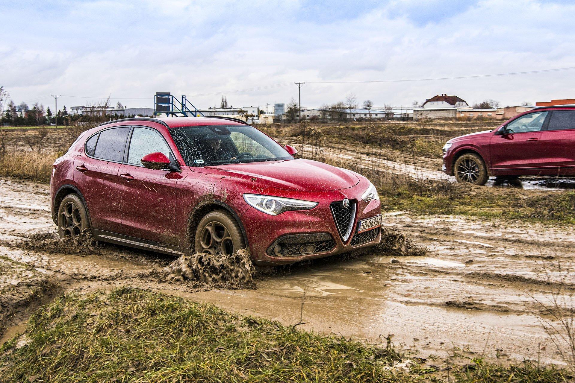 Alfa Romeo Stelvio – przód