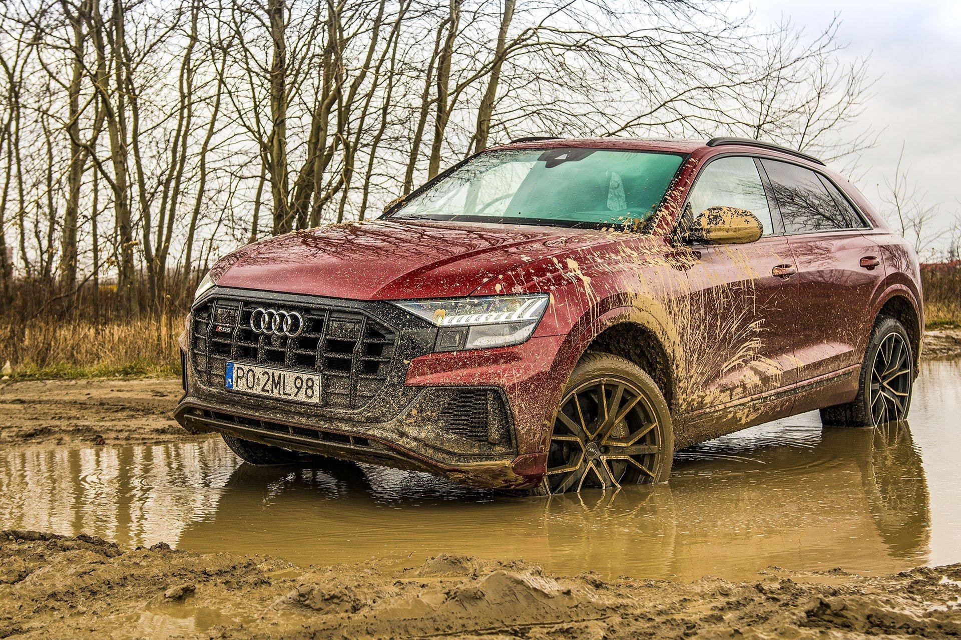 Audi SQ8 – przód