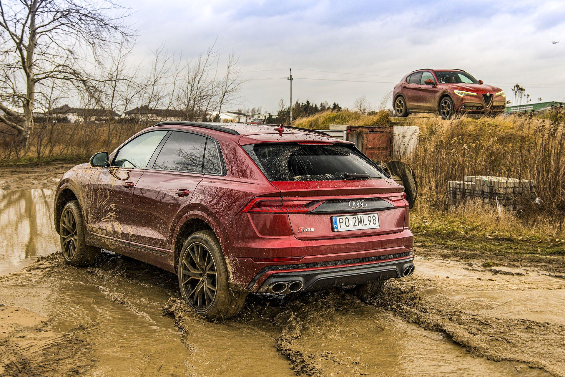 Audi SQ8 – tył