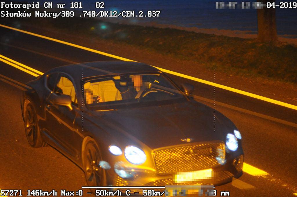 Bentley - fotoradar