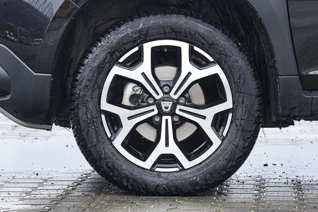 Dacia Duster 4WD - koło