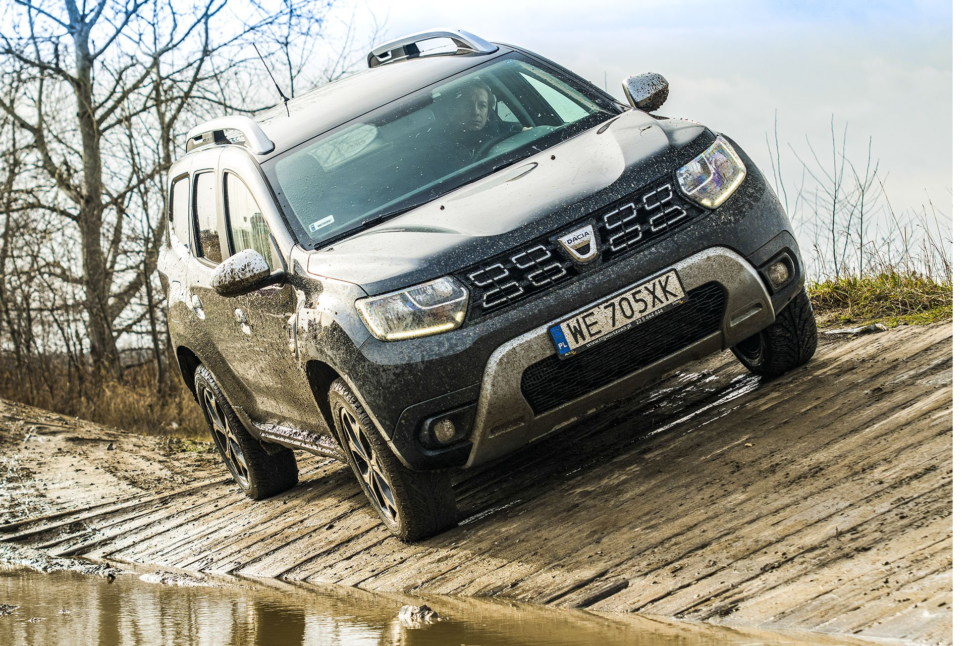 Dacia Duster 4WD - przód