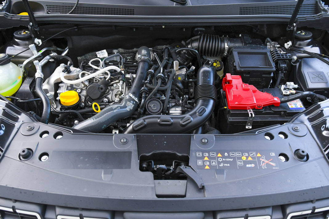 Dacia Duster 4WD - silnik