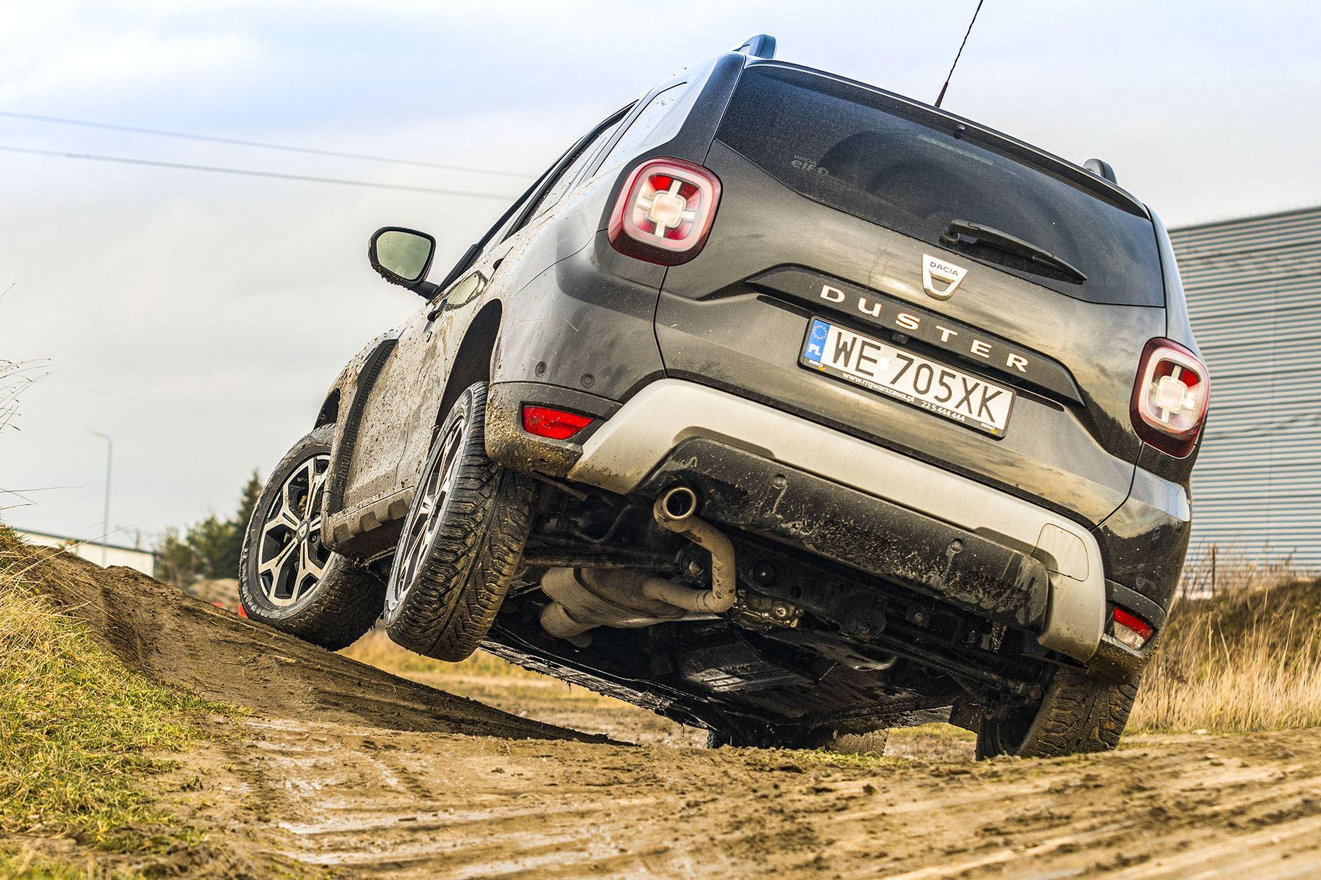 Dacia Duster 4WD - tył