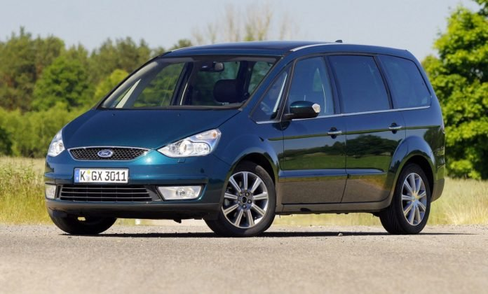 FORD Galaxy II 2.0TDCi 140KM 6MT 7-os KGX3011 06-2006