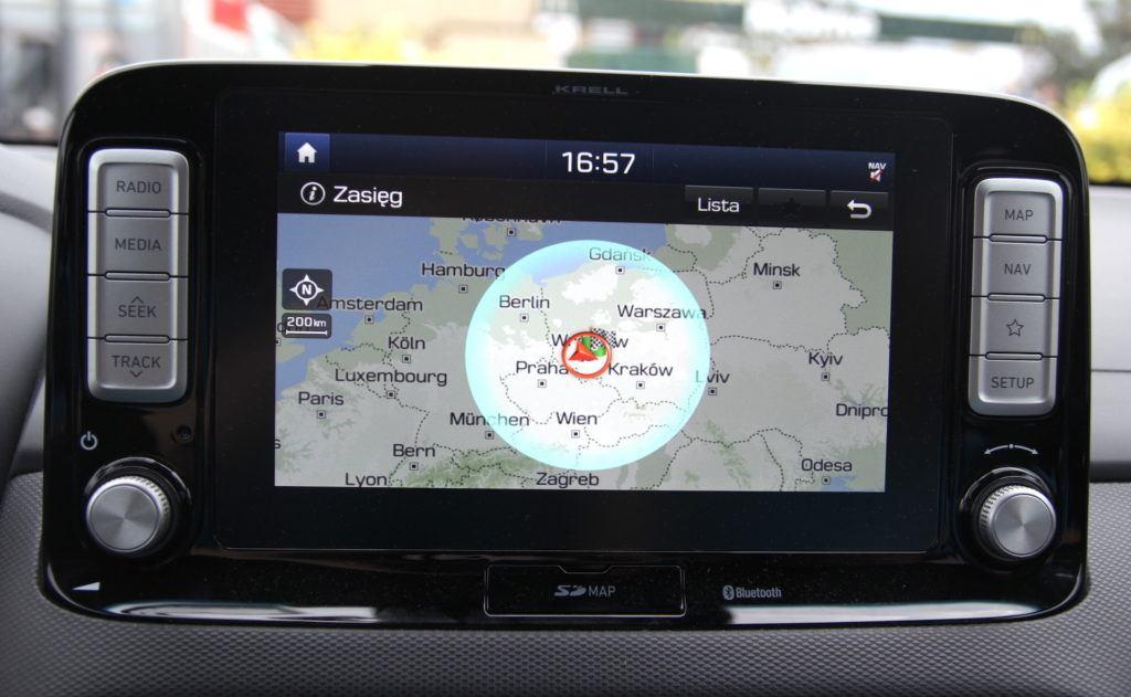 Hyundai Kona Electric - zasięg